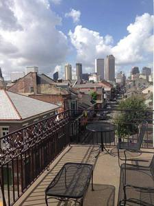 King & Queen Two Bedroom Suite with Private Bourbon Street Balcony Picture 2