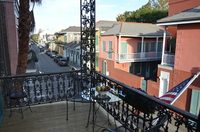 Petite Queen Bedroom with Bourbon St Balcony Photo 2