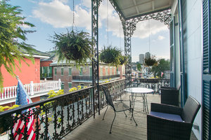 King Bedroom with Bourbon St. Balcony Photo 2